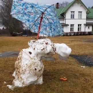 Hvor gikk min snømann hen