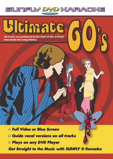 Bedre karaoke fra 60's Ultimate 60s DVD