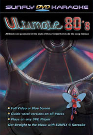 Karaoke Ultimate 80 levert av Norsk Karaoke
