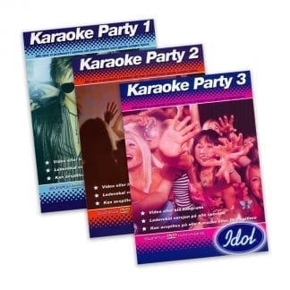 3 Idol Karaokeplater - Samlepakke