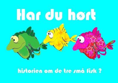 Karaoke Historien om de tre små fisk